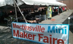 Yay!  Welcome to Martinsville Mini Maker Faire!