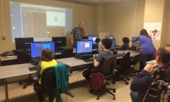 Jeff teaching